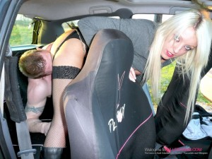 Charley Stuart back seat fuck