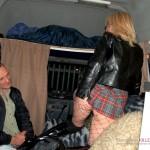 Wife fucked in back of a van