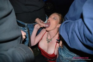 A cock fest for Holly Kiss