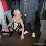 Bukkake wife in lingerie & stockings